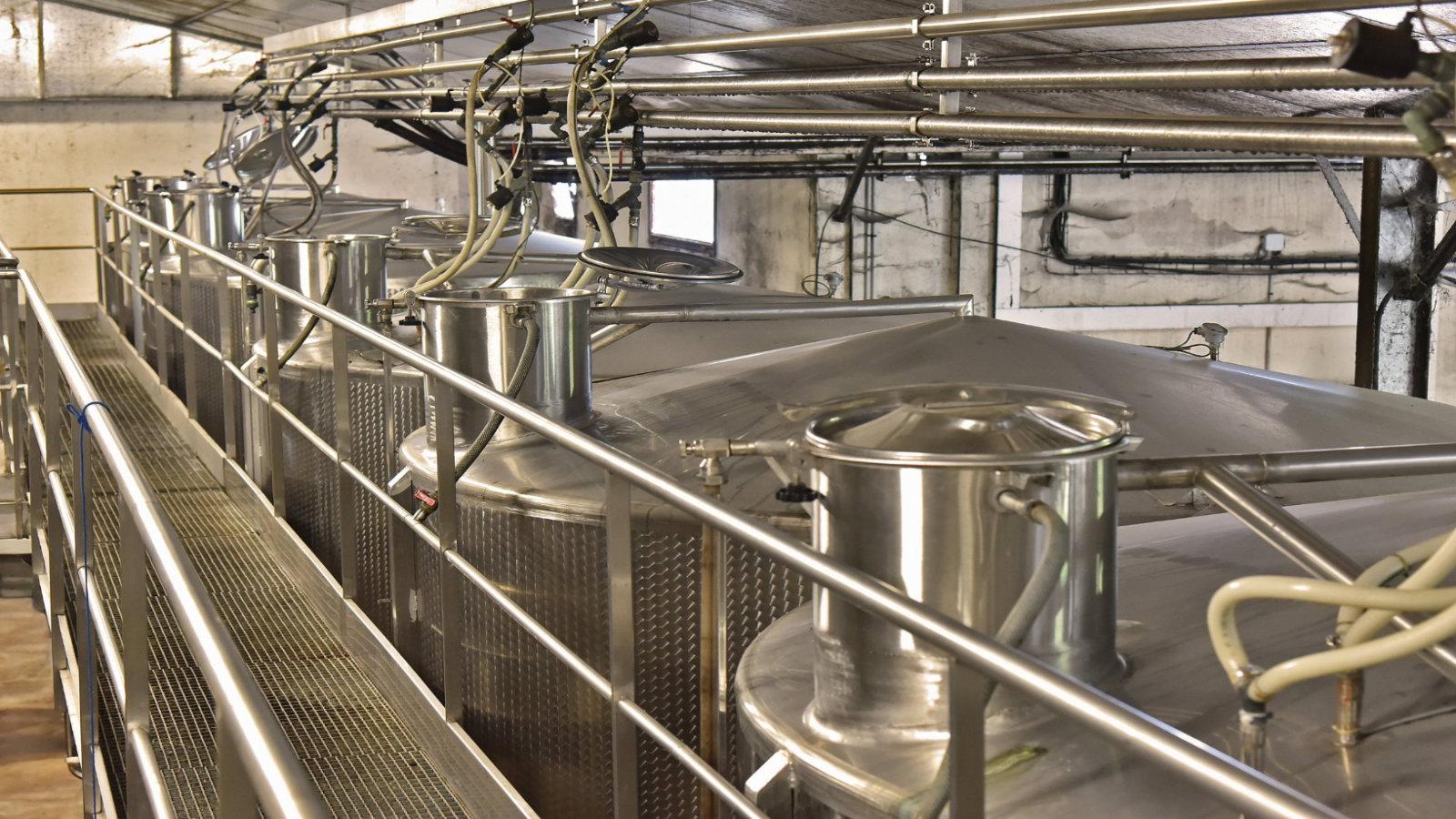 Nous effectuons un contrôle qualité de nos vins