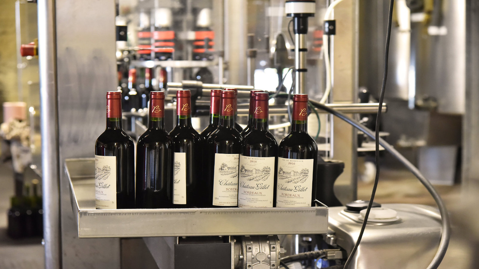 Nos vins sont aussi exportés à l'étranger