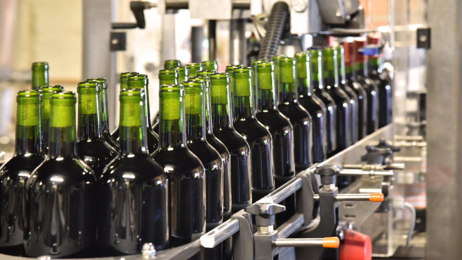 Nous produisons 500 000 bouteilles par an